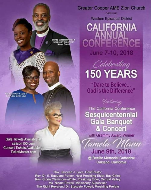 AME Zion 150th California Conference