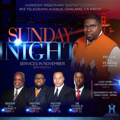 Harmony Missionary Baptist Church Harvest Revival 2018