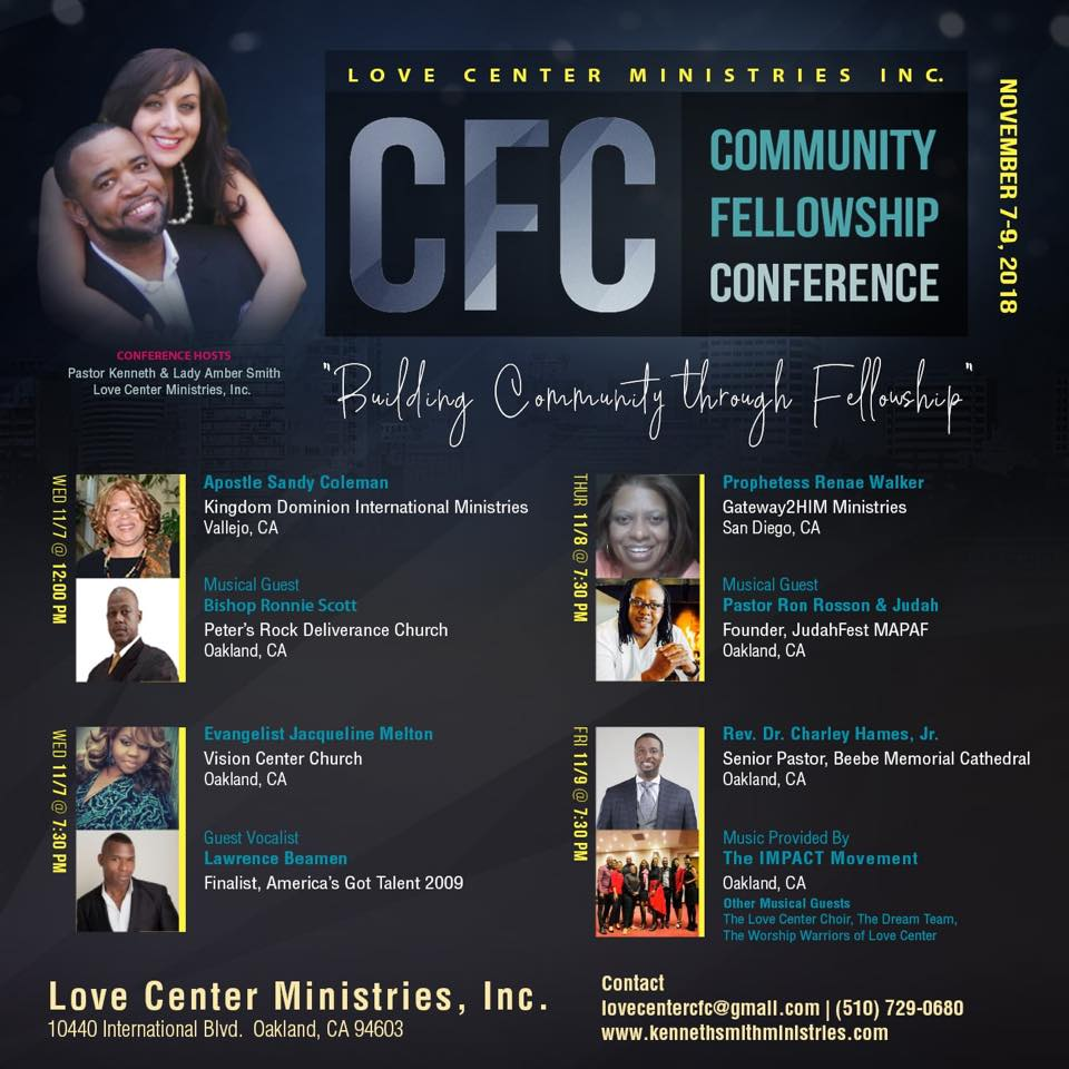 Love Center Ministries - Community Fellowship Conference 2018
