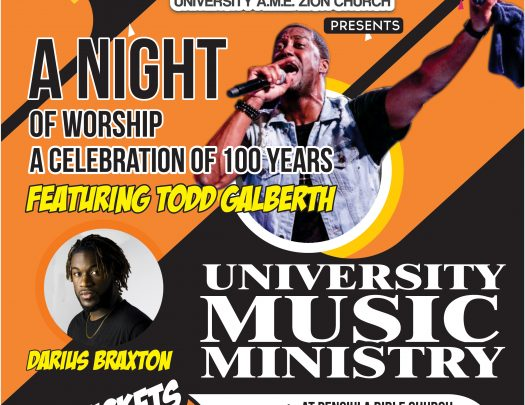 University AME Zion Church - 100 Anniversary feat Todd Galberth