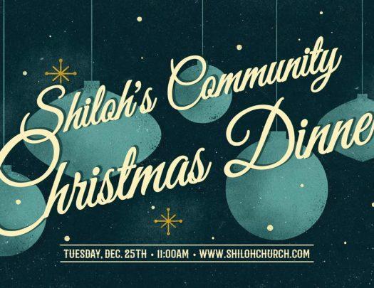 Shiloh Church Oakland Christmas Day Dinner