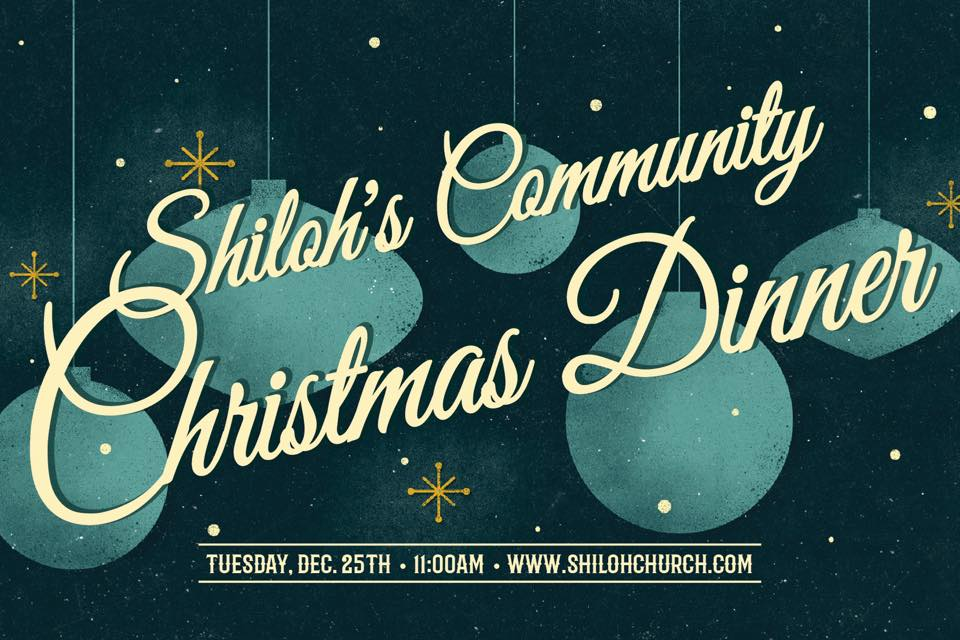 Shiloh Church Oakland Christmas Day Dinner