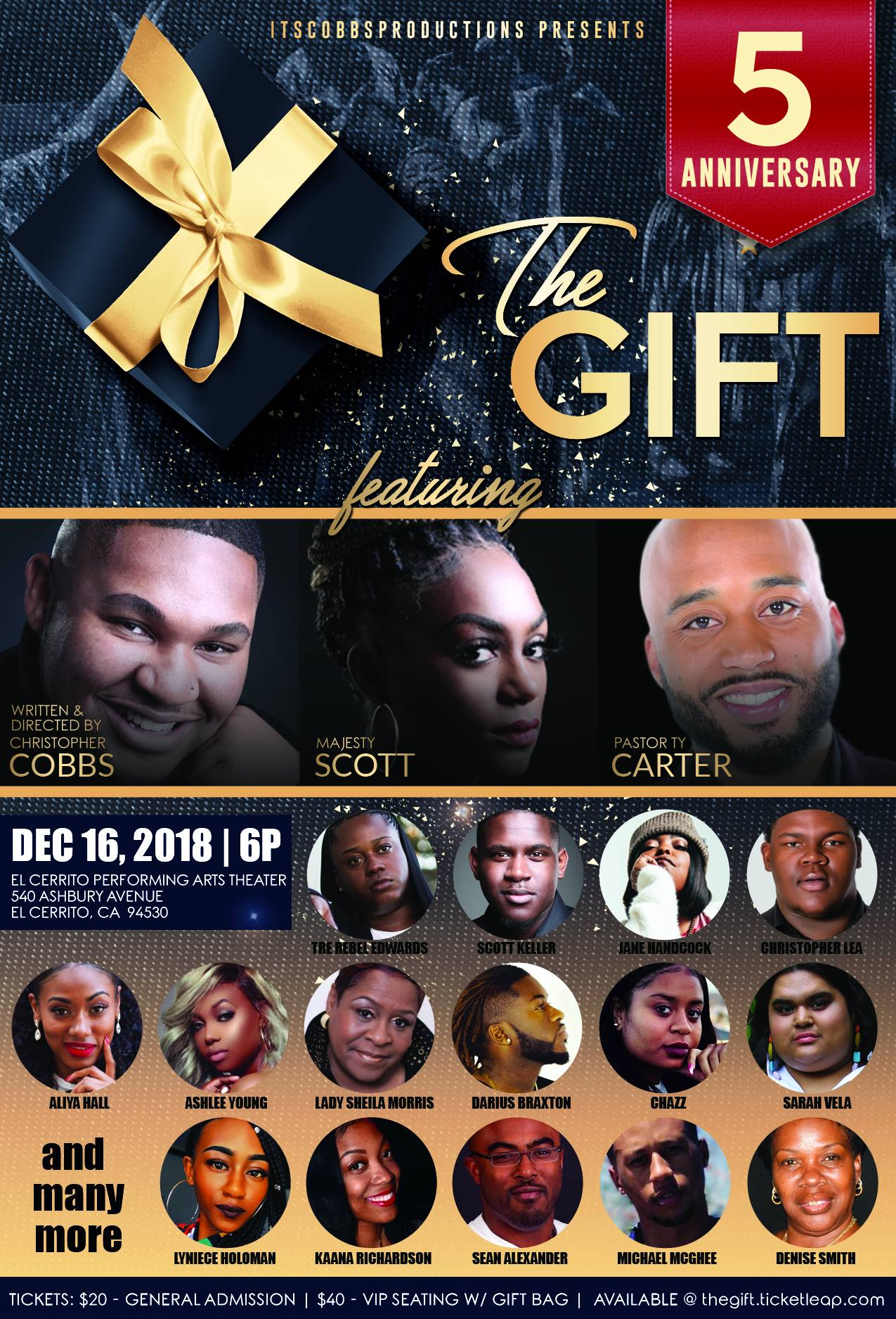 The Gift Musical 2018