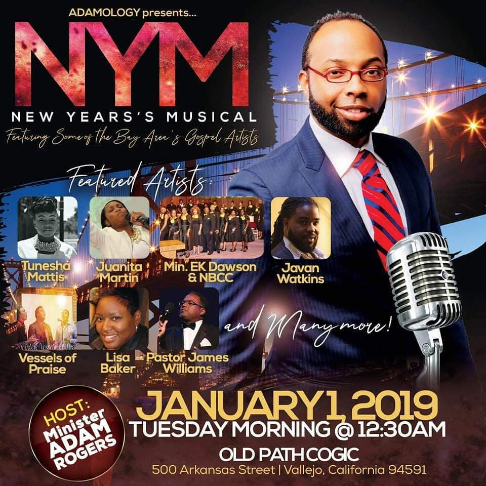 Adamology New Years Musical 2019
