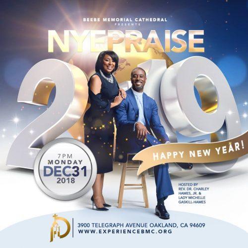 Beebe Memorial Cathedral Nye Praise 2018