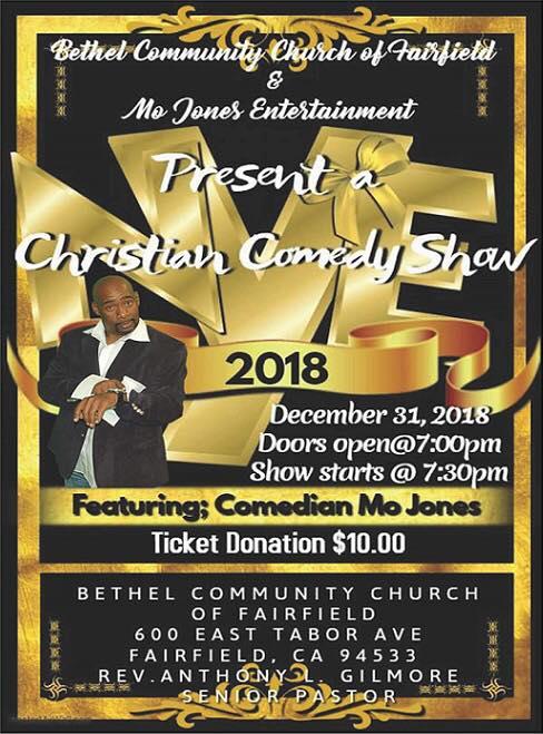 Bethel Community Church Nye Christian Comedy Show 2018