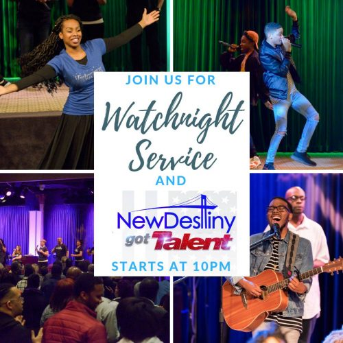New Destiny Church Watch Night 2018