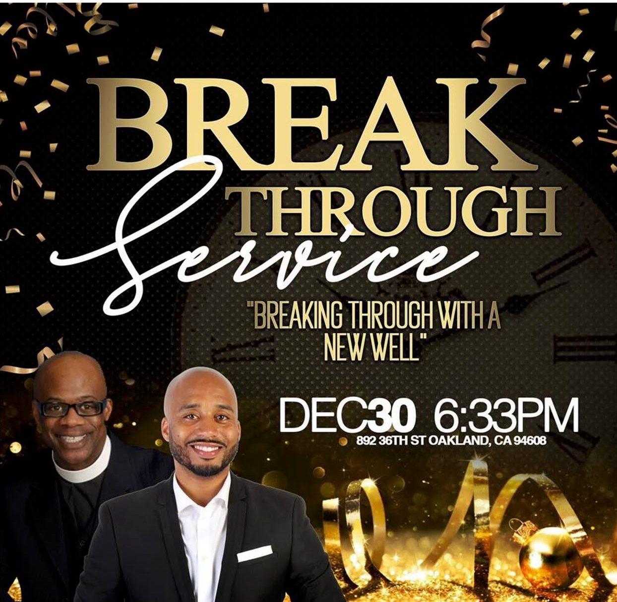 New Hope WellSpring NYE Breakthrough 2018
