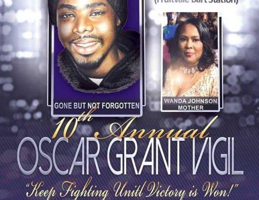 10th Annual Oscar Grant Vigil 2018