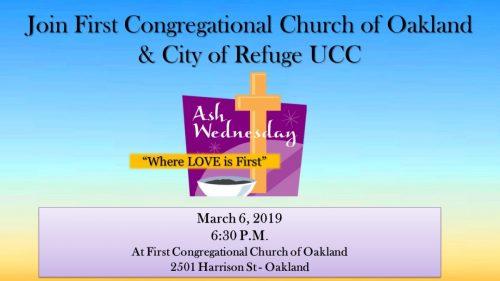 First Congo COR Ash Wednesday 2019