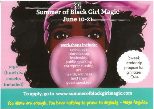 Summer Of Black Girl Magic 2019