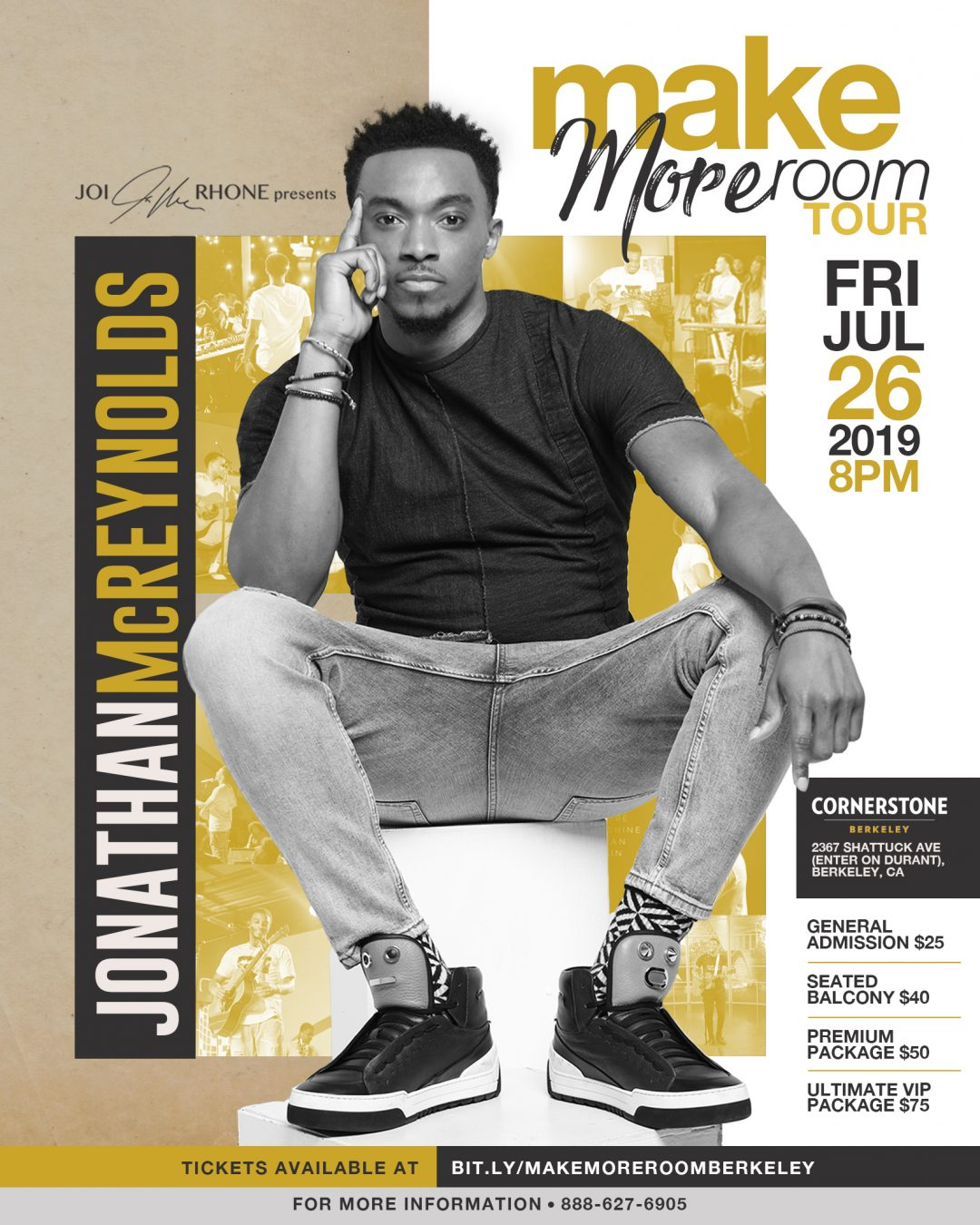Jonathan Mcreynolds Make More Room Tour Berkeley
