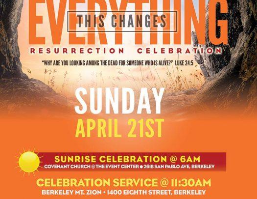 Berkeley Super Sunrise Berkeley Mt Zion Covenant Church 2019