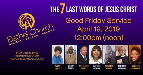 Bethel Church Good Friday 2019