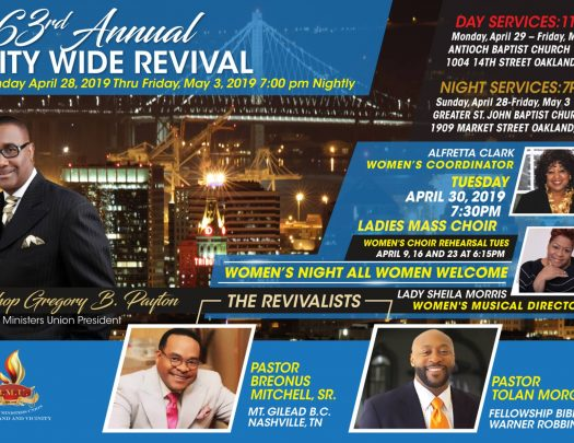 BMU Oakland City Wide Revival 2019