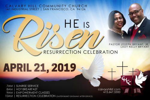 Calvary Hill Community Church Easter 2019