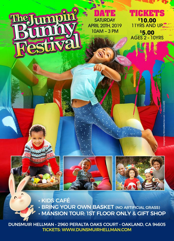 Jumpin Bunny Festival Back