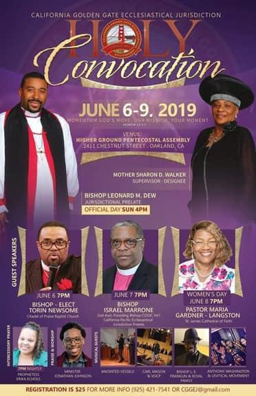 Holy Convocation Ca Golden Gate Ecclesiatical Jurisdiction