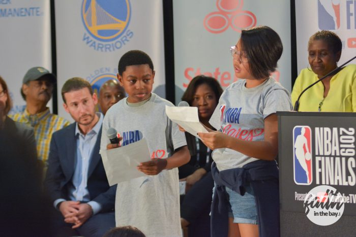 Warriors Nba Cares Ira Jenkins Rec Center 2019 6403