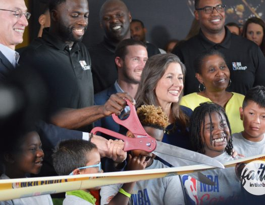 NBA Cares Learn & Play Zone Ira Jinkins Recreation Center