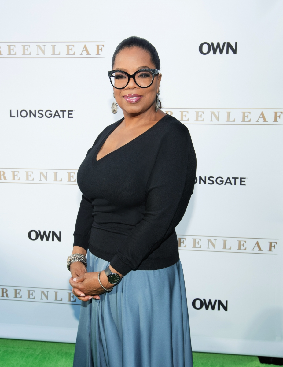 Oprah Winfrey at OWN Los Angeles Premiere of Greenleaf PhotoCredit GettyImages Mark Davis MWD10460 r1