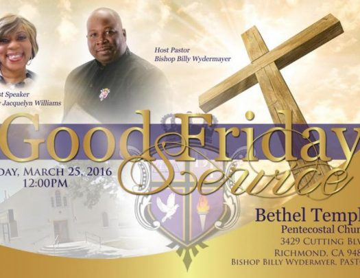 Bt Goodfriday 2016