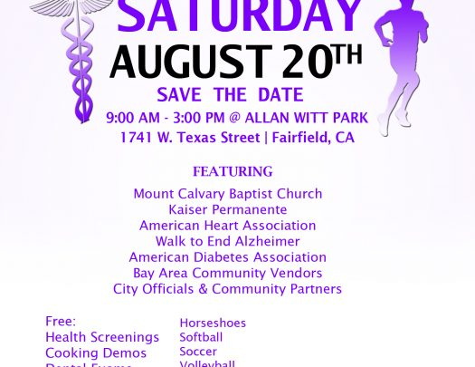 Mount Calvary Baptist Church Health & Fitness Fair