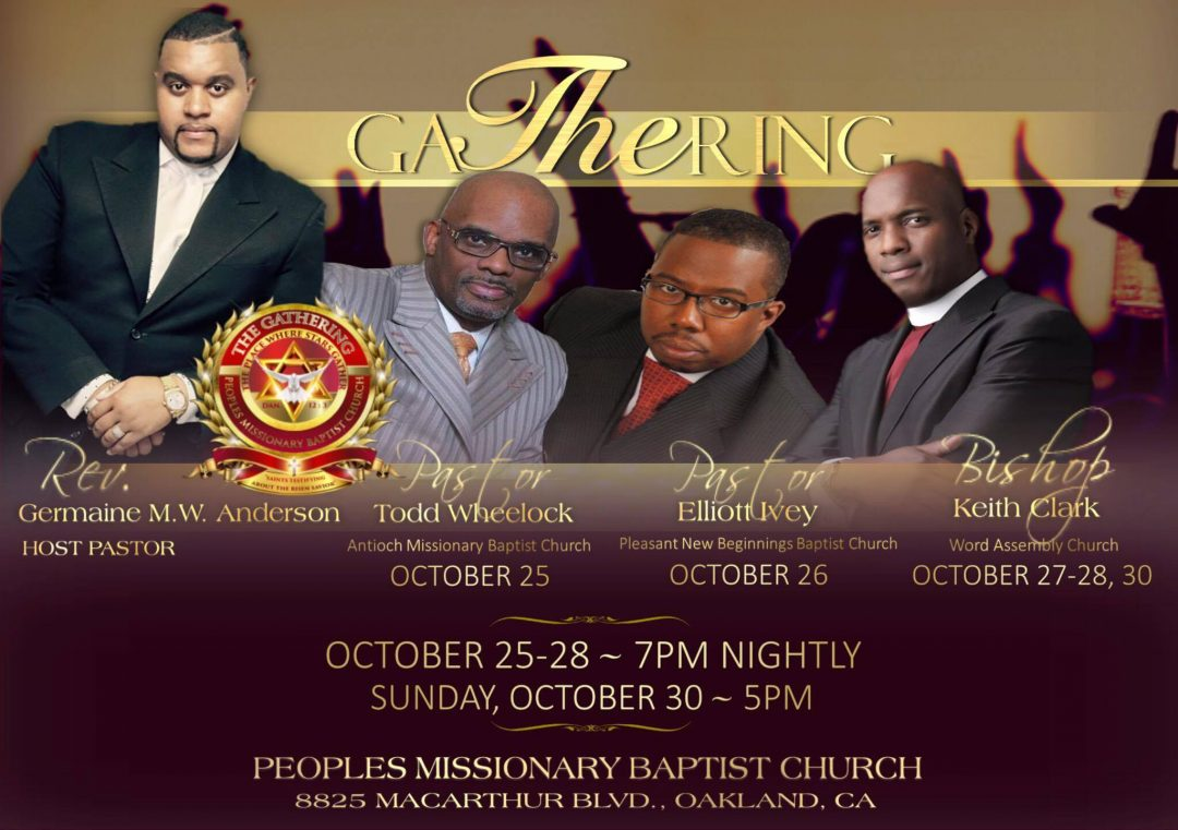 Peoples Missionary Baptist Church - The Gathering Encounter