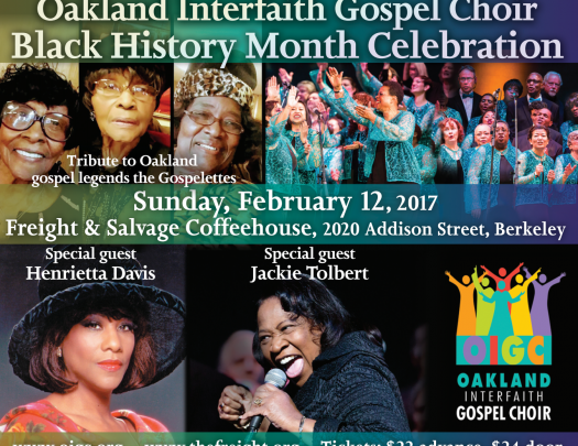 Oakland Interfaith Gospel Choir - Black History Month Celebration