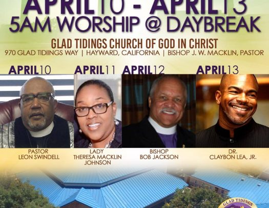 Glad Tidings COGIC - Holy Week Revival