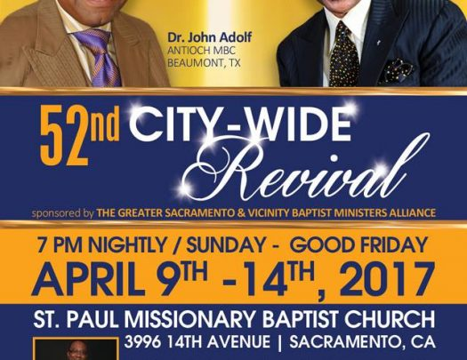 Sacramento City Wide Revival