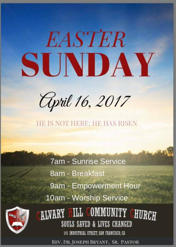 Calvary Hill Community Church – Easter Sunrise Service
