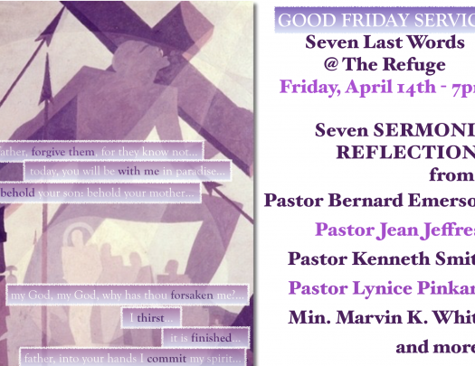 City of Refuge UCC - Good Friday Service