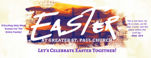 Greater St. Paul - Holy Week 2017