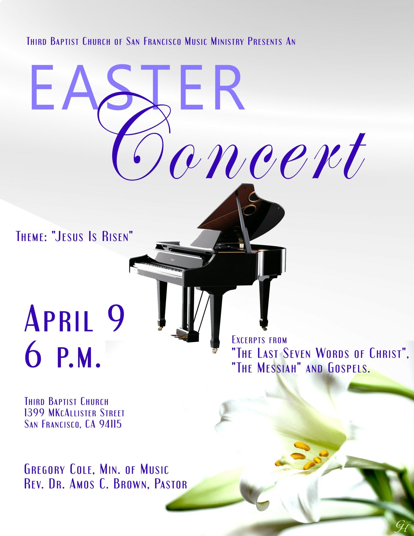 Third Baptist Church - Easter Concert