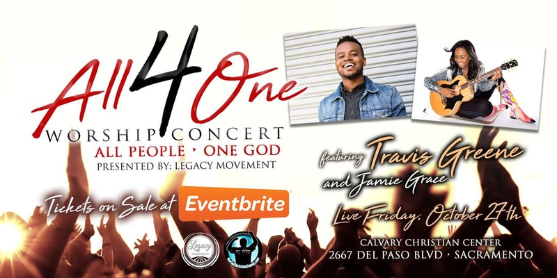 All 4 One Worship Concert - Travis Greene & Jamie Grace