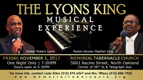 The Lyons King Musical Experience