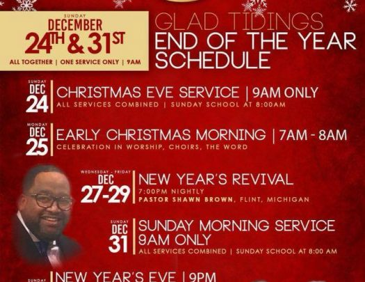 Glad Tidings COGIC