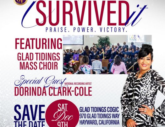 Glad Tidings COGIC - I Survived It