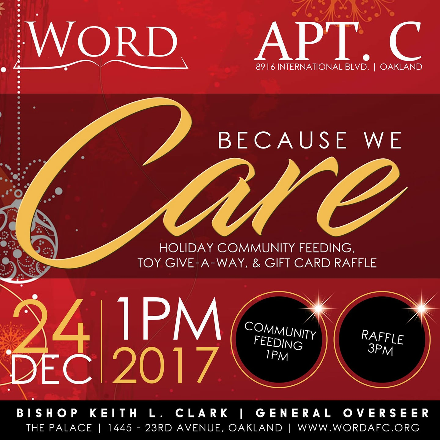 Word Assembly - Christmas Dinner & Toy Giveaway