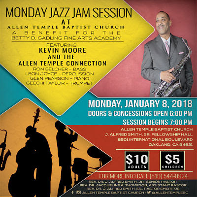 Allen Temple Baptist Church - Monday Jazz Jam Session