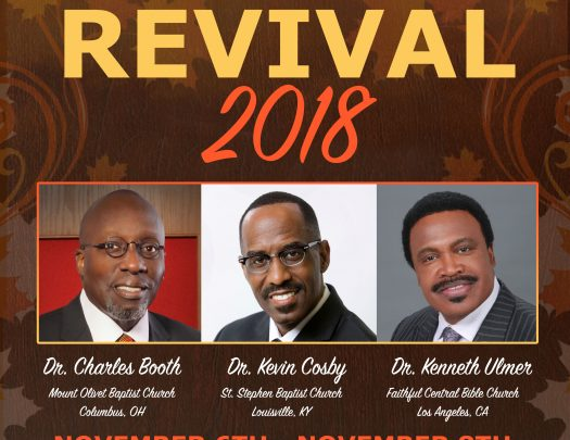 Mount Calvary Baptist Church Fall Revival 2018
