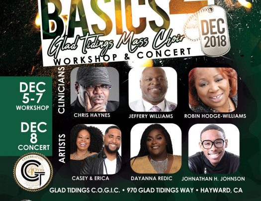 2018 Glad Tidings COGIC Music Workshop And Concert