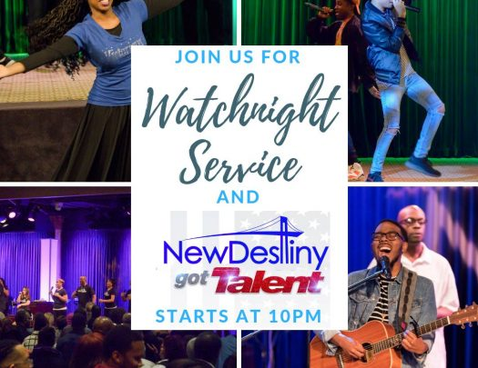 New Destiny Church Watch Night 2018