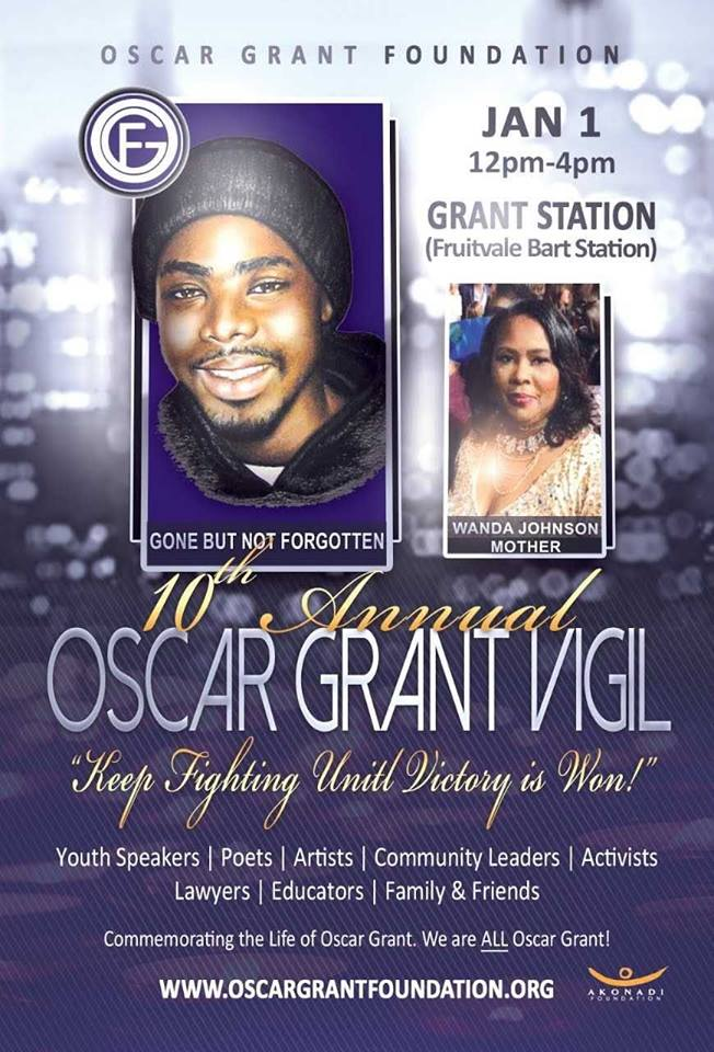 10th Annual Oscar Grant Vigil 2018