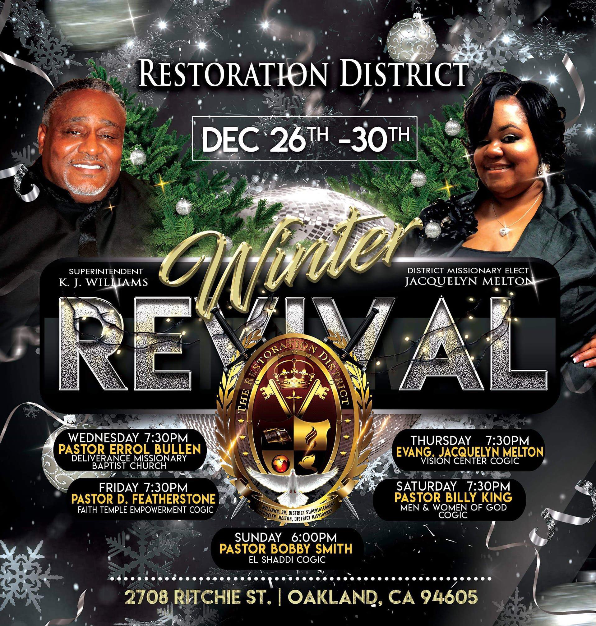 Restoration District Nye Winter Revival 2018