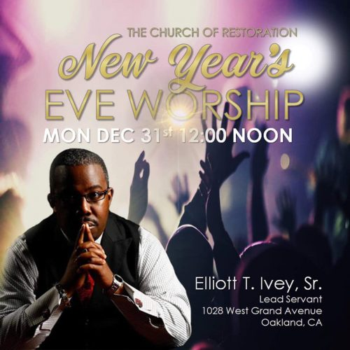 The Church Of Restoration New Years Eve Worship 2018