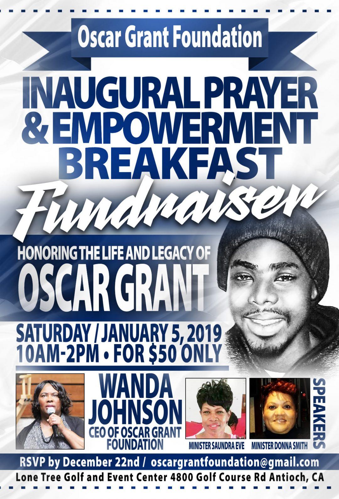 Oscar Grant Foundation Empowerment Prayer Breakfast 2018