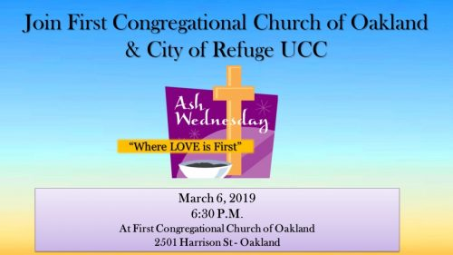 First Congo COR Ash Wednesday 2019