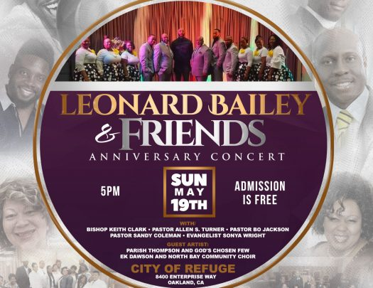 Leonard Bailey And Friends Anniversary Concert 2019
